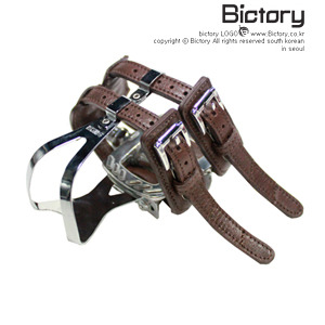 [BICTORY/가죽스트랩] Contigo double Strap (brown)
