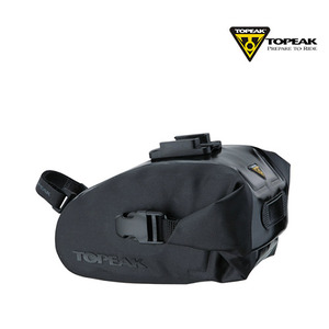 [TOPEAK/가방/안장용가방] 토픽 Wedge DryBag (black) M QUICK CLICK