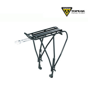 [토픽/렉/짐받이] UNI EXPLORER DISC (HEIGHT ADJUSTABLE, W/DISC MOUNT, BLACK)
