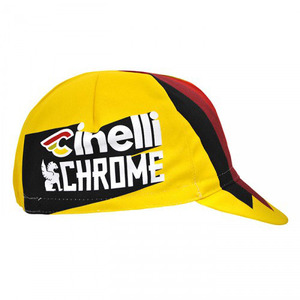 치넬리 쪽모자 자전거모자 CINELLI 2017 TEAM CINELLI CHROME RACING CAP