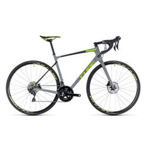 큐브 ROAD CUBE 2018 어테인 Attain GTC Race Disc / grey&green