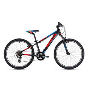 큐브 MTB 아동용 CUBE 2018 KID 240 / black´n´flashred´n´blue