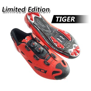 SIDI 자전거신발 MTB 2019 최신 TIGER SRS MATT CARBON Matt Red 한정품